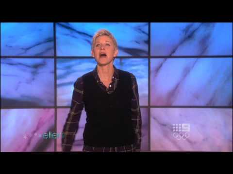 the ellen degeneres show intro 2009 12 days of christmas