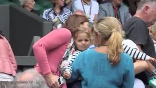 HD quality of Myla and Charlene at Wimbledon 2012
