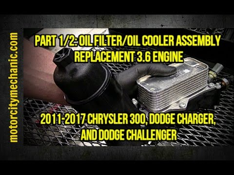 Part 1/2 2011-2017 Dodge Charger/Challenger/Chrysler 300 oil filter