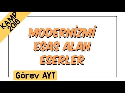 Modernizmi Esas Alan Eserler | Kamp2018: Görev AYT
