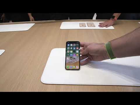iPhone X first review hands on Apple launch event live