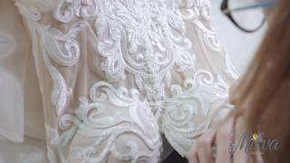 Как создаются платья MILVA/ The creation of wedding dresses MILVA