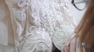 Как создаются платья MILVA/ The creation of wedding dresses MILVA