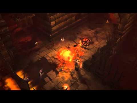 Diablo 3 Demon Hunter Gameplay  Blizzcon 2010