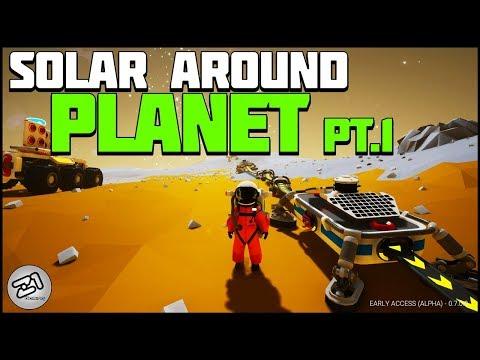 Solar Panels AROUND Barren! Part 1 Astroneer Rover Update 7.0 | Z1 Gaming