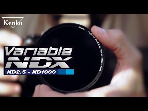 Kenko Variable Neutral Density filter - NDX