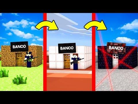 DE BANCO NOOB A BANCO PRO 💸😱!! - ¿PODREMOS ROBAR ESTE BANCO?
