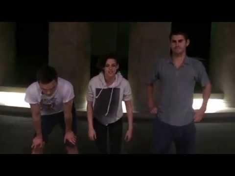 Kristen Stewart & Nicholas Hoults ALS Ice Bucket Challenge