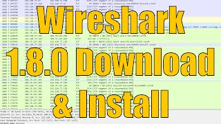 Wireshark 1.8.0 Download and Installation