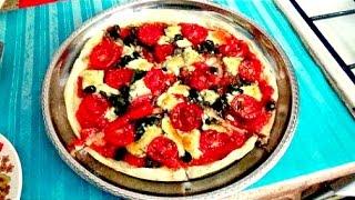 Неаполитанская  пицца легко и просто.