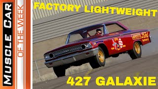 1963 Phil Bonner Ford Galaxie 427 Lightweight: Muscle Car Of The Week Episode 261 V8TV
