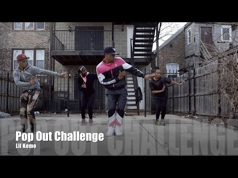 Lil Kemo - Pop Out Challenge (Dance Video)
