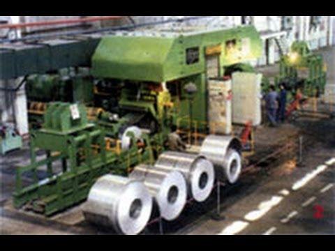 Aluminum Strip Sheet Band Hot Roll Machine Equipment