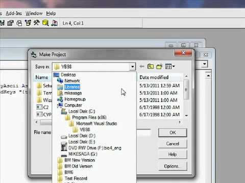 How to avoid Visual basic 6.0 Gets run time error 70 permission
