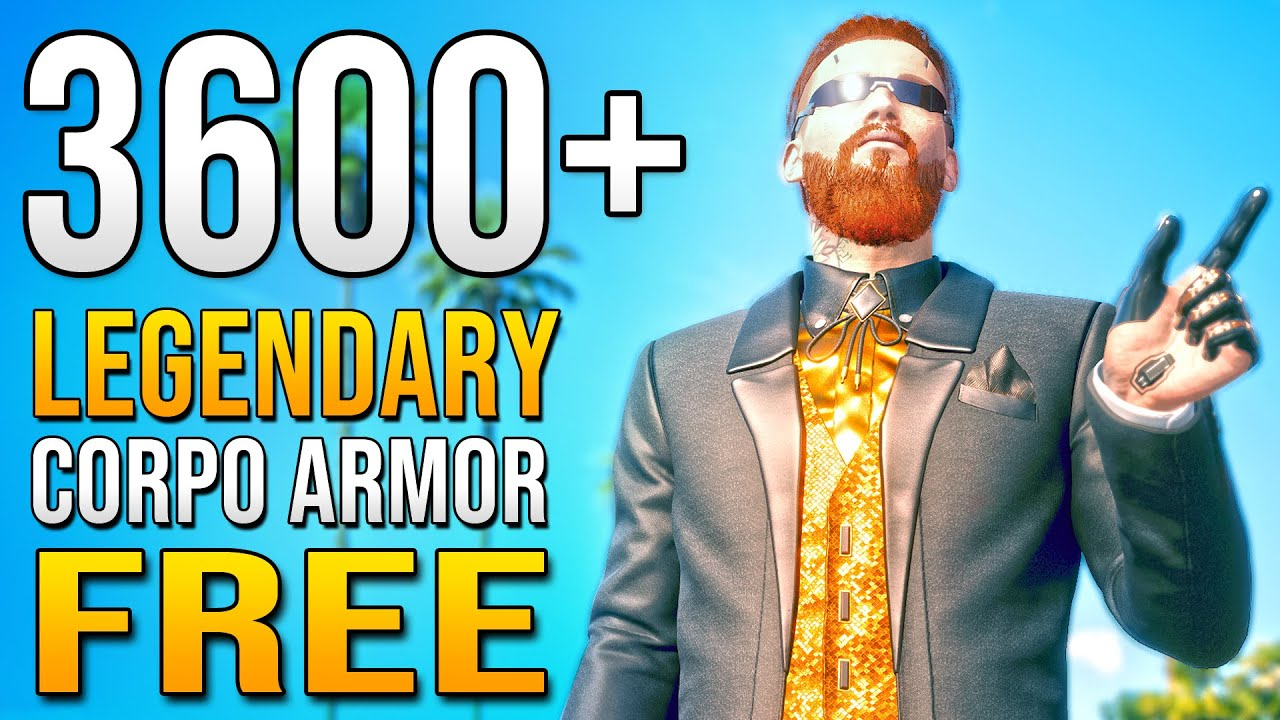 BEST ARMOR - Free Legendary Clothes Location in Cyberpunk 2077 EARLY Build Guide Gameplay!