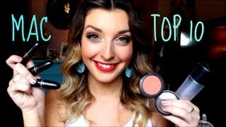 Top 10 MAC Products: Collab with jessicamayxoxo Thumbnail