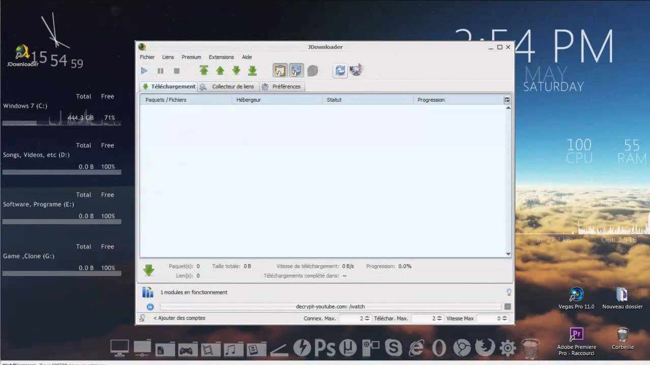 telecharger jdownloader 2 beta francais gratuit