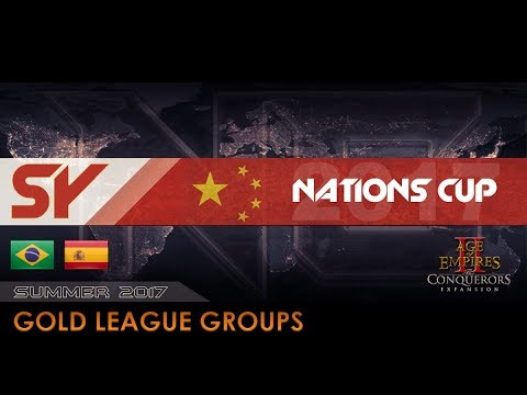 Brazil B vs Spain A | Nations Cup 2017 - Gold Groups