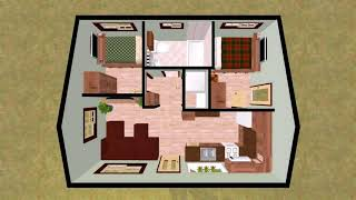 Small Cottage House Plans Under 1000 Square Feet (see description) (see description)