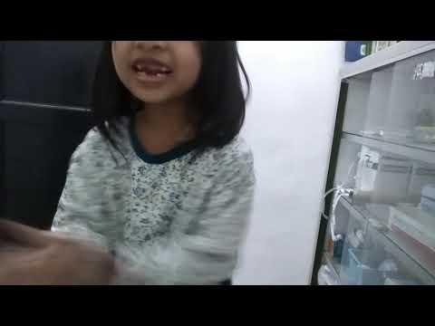 Bilqis Sabrina - Bernyanyi gigi putih dan bersih