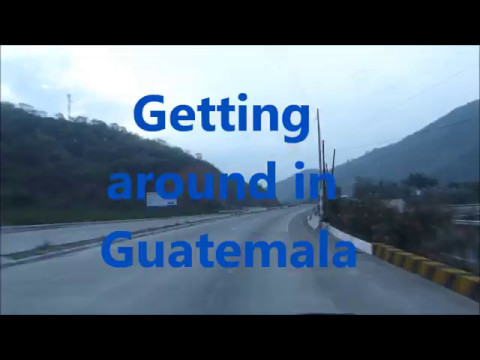 Guatemala travel experience on its highways and byways