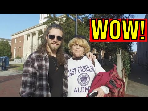 Alaskan Bush people is real! Joshua Bam Bam Brown spotted In NC!