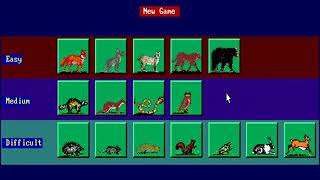 Animal Quest  HYPERSPIN DOS MICROSOFT EXODOS NOT MINE VIDEOS1996