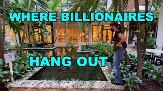 BAL HARBOUR MIAMI FLORIDA WHERE BILLIONAIRES SHOP