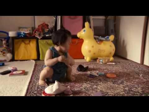 Babies 2010 - Japanese girl playing