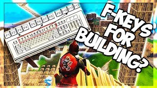 DO I REALLY USE MY F KEYS FOR BUILDING? *BEST KEYBINDS* (Fortnite Battle Royale)