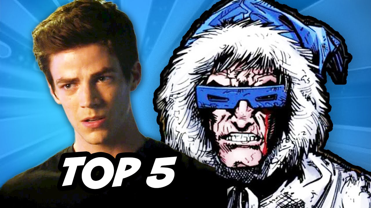 The Flash Episode 4 - TOP 5 Comic Book Easter Eggs - YouTube