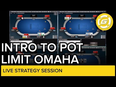 Introduction to Pot Limit Omaha   Live Strategy Session
