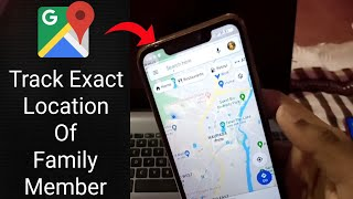 How To Track Exact Location Of Your Family Members By Using Google Maps | Check 🔴 Live Location screenshot 5
