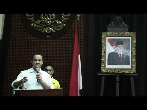 Anies Baswedan - Seminar Dewan Guru Besar Universitas Indonesia