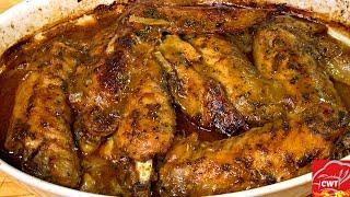 Smothered Turkey Wings  Soul Food Turkey Recipe
