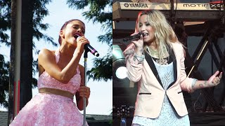Download Demi Lovato vs Ariana Grande - You're My Only Shorty (Live) MP3 song and Music Video