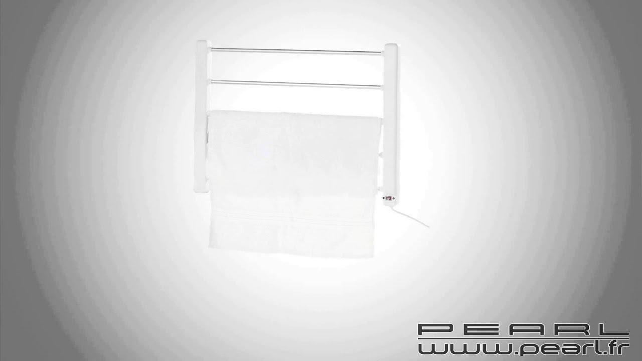 nc3550 porte serviette chauffant v2 youtube. Black Bedroom Furniture Sets. Home Design Ideas