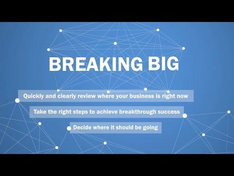 Business Doctors' Breaking Big Seminar - Promo