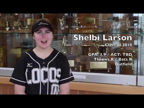 Shelbi Larson Recruiting Video: OF / Class of 2018