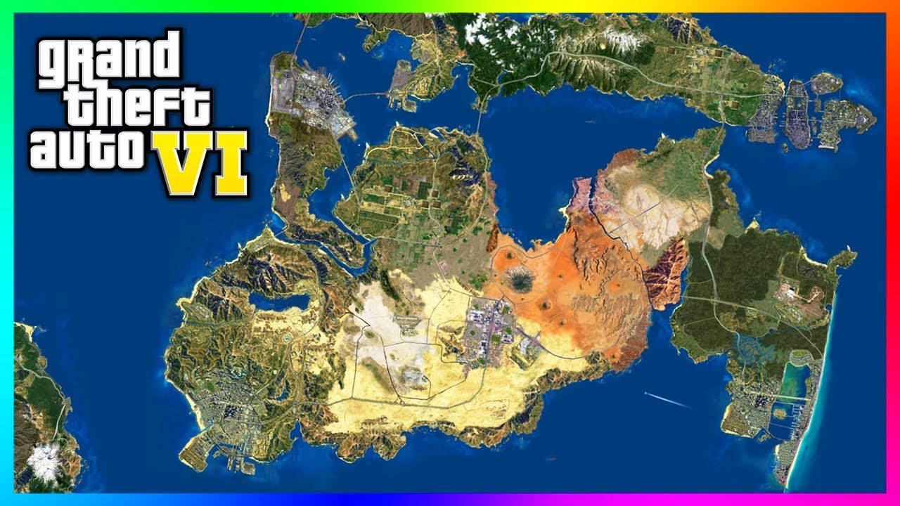 Grand Theft Auto 6   NEW INFO! Map Details, Next Gen Consoles ONLY
