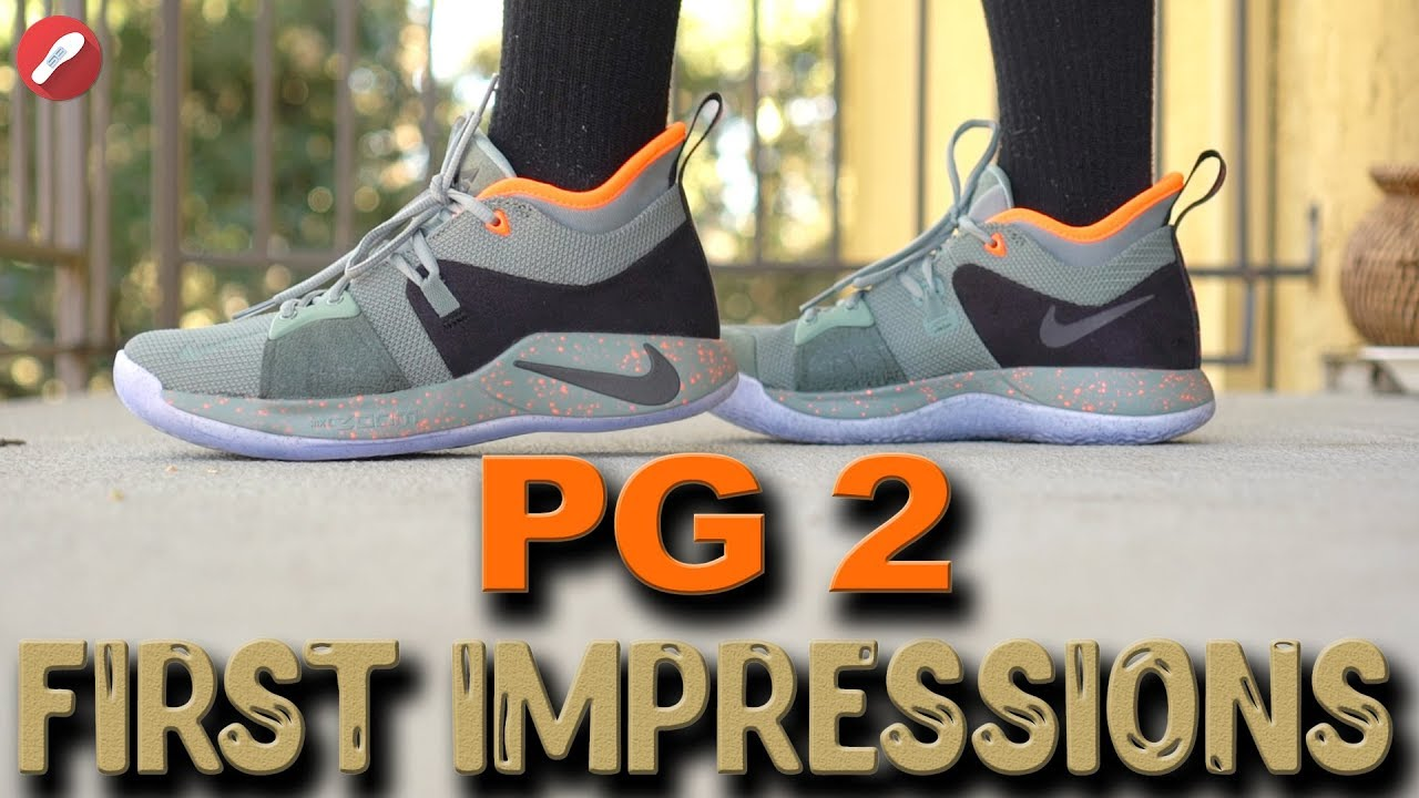 c65d8e0e4fca Nike PG 2 (Paul George) All Star First Impressions! - YouTube