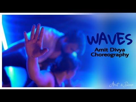Dean Lewis - Waves  Dance Cover  Amit Divya Choreography
