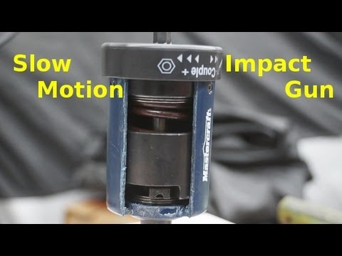 Slow Motion How An Impact Wrench Works