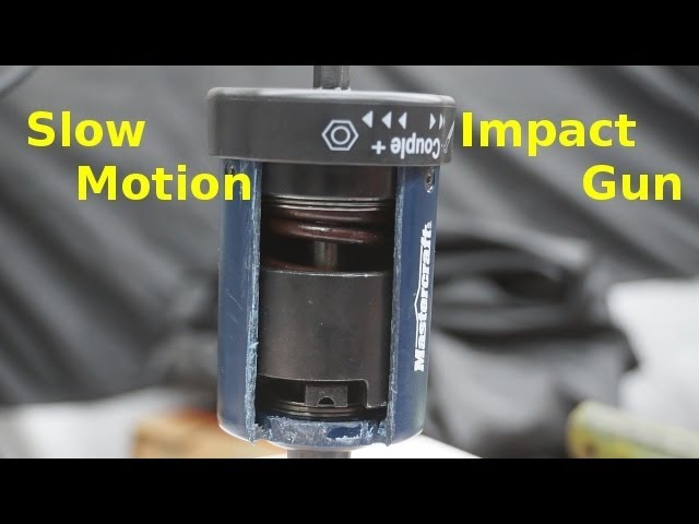 Slow Motion - How an Impact Wrench Works