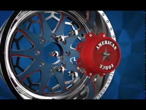 American Force presents Faceplate (FP) Series Wheels, a second take