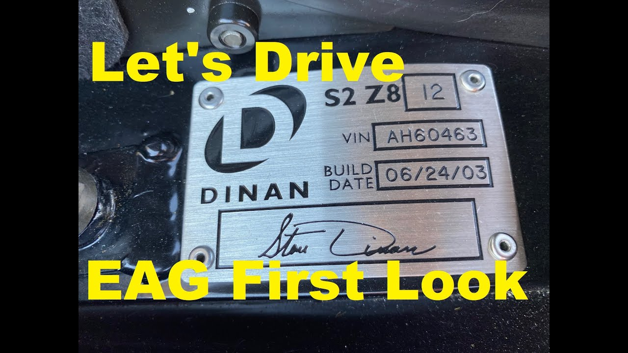 Let's Drive: Dinan S2 Z8 - EAG First Look
