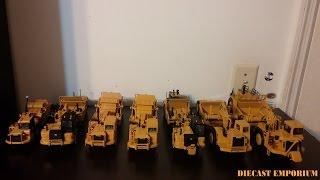 Caterpillar Scraper Models (Norscot & Tonkin)