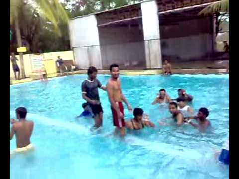 swimming pool jumps dives stunts anand resort youtube