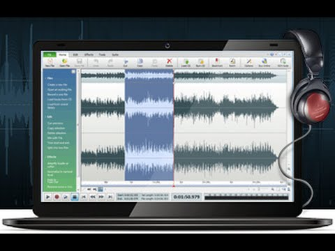 SPLIT YOUR LONG AUDIO & SAVE THEM INTO SEVERAL TRACKS OR SECTIONS [tutorial]