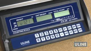 Economy Counting Scale Calibration
